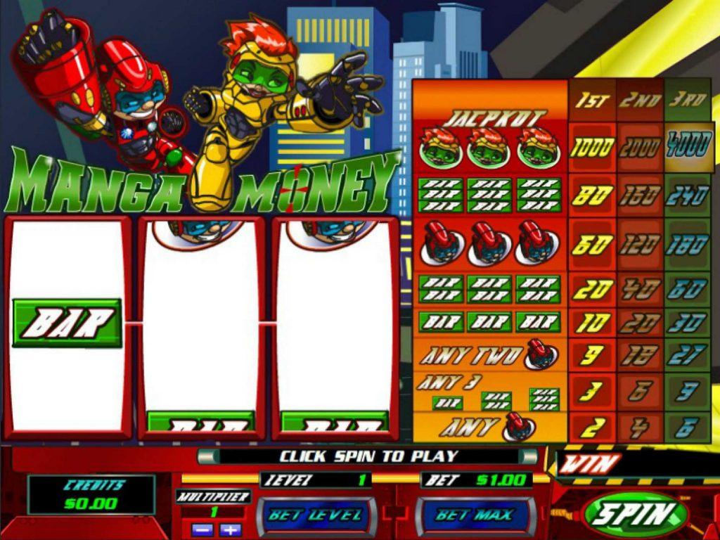Manga Money Gameplay